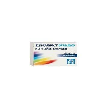 Levoreact collirio antistaminico 4ml
