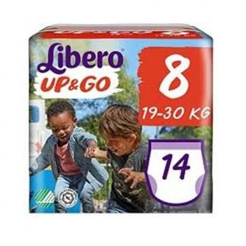 Libero up&go pannolini 8 19-30 14 pezzi