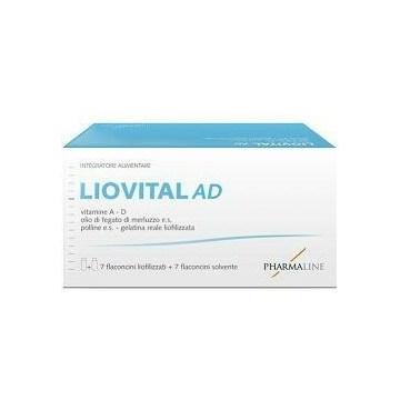 LioVital AD Integratore per Bambini 7 flaconcini