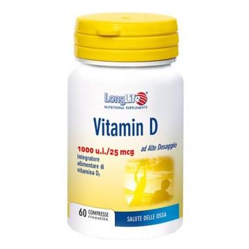 Longlife vitamina d3 1000ui 60 compresse