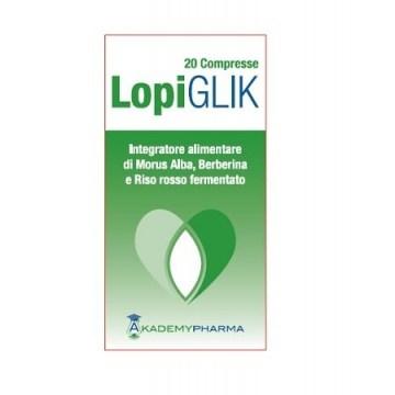 Lopi Glik Integratore per il Colesterolo 20 compresse