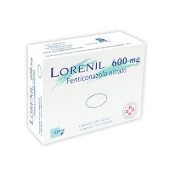Lorenil 600 mg 1 capsula molle Vaginale per Micosi
