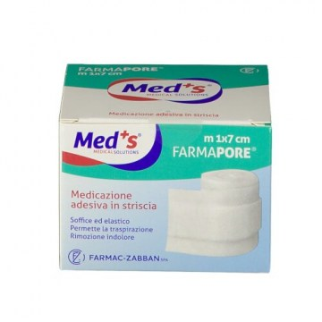 Meds pore medicazione adesiva 1mx7cm