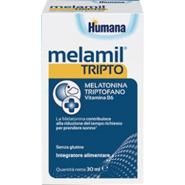 Humana Melamil Tripto Integratore per Sonno 30 ml