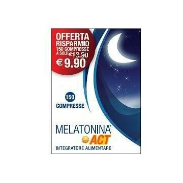 Melatonina Act Integratore Sonno 150 compresse