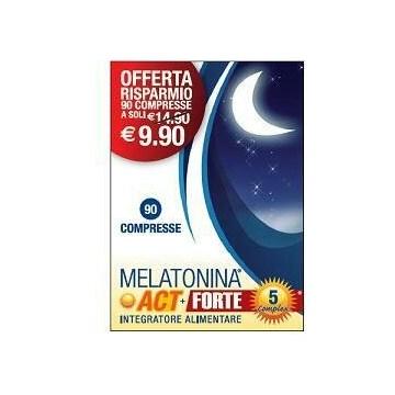 Melatonina Act + Forte per Benessere Mentale 90 compresse