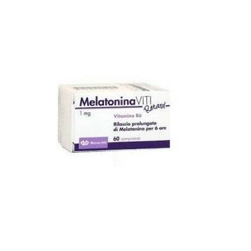 Melatonina Viti Retard 1 mg Integratore Melatonina 60 compresse