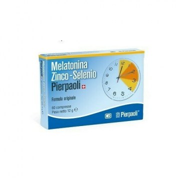 Melatonina Zinco Selenio Dr. Pierpaoli 60 compresse