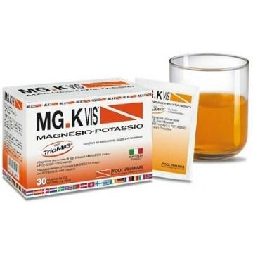 Mgk vis integratore di mg, potassio & creatina 30 bustine