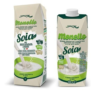 Monello soia bevanda vegetale uht di soia 1000 ml