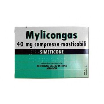 Mylicongas Meteorismo 40 mg 50 compresse masticabili