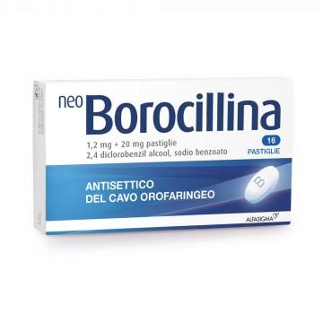 Neoborocillina Antisettico Orofaringeo 16 pastiglie