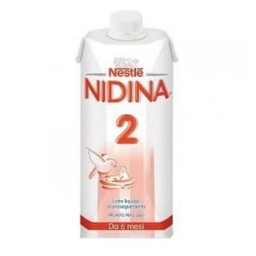 Nestle Nidina 2 Optipro Latte Liquido 500 ml