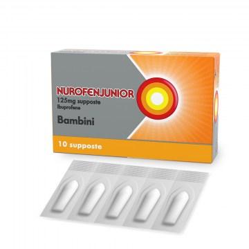 Nurofen Junior 125 mg 10 supposte Bambini