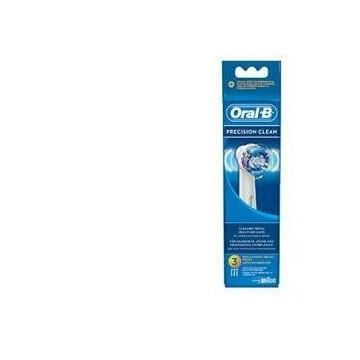 Oral-B Precision-Clean Testine di Ricambio EB20-3 Per Spazzolino Elettrico