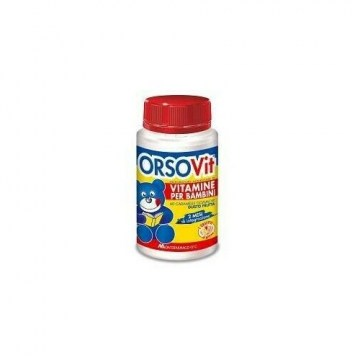 OrsoVit Vitamina Bambini Caramelle Gommose senza glutine 60 pz