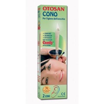 Otosan Cono per l'Igiene delle Orecchie otosan+propoli 2 pezzi