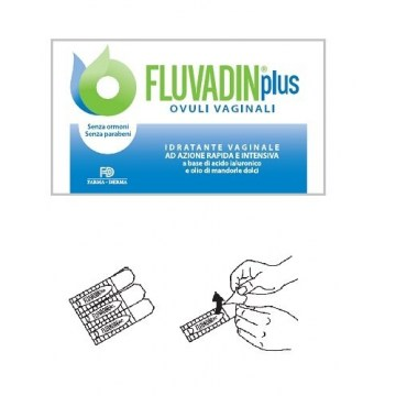 Fluvadin Plus Ovuli Vaginali Lubrificanti Secchezza Menopausa