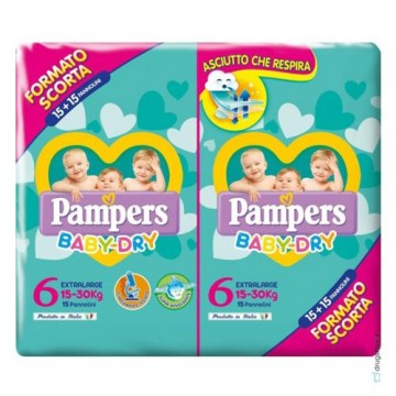 Pampers baby duo downcount xl 30 pezzi