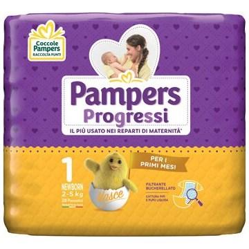 Pampers progressi sensitive newborn 28 pezzi