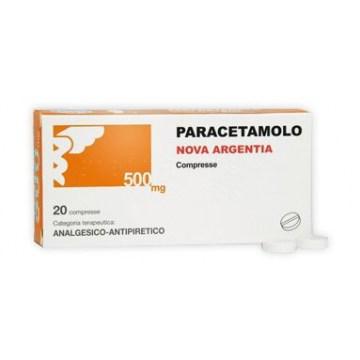 Nova Argentia Paracetamolo 500 mg 20 compresse