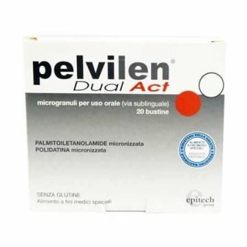 Pelvilen dual act 20 bustine 1,05 g