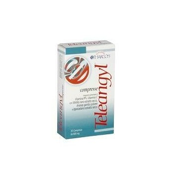 Pharcos teleangyl 20 compresse