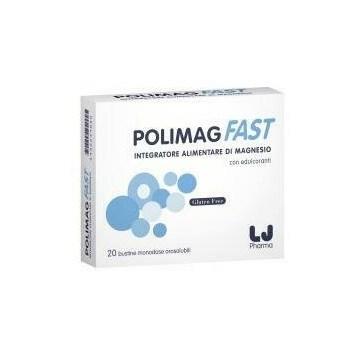 Polimag Fast Integratore di Magnesio 20 bustine