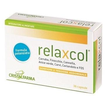 Relaxcol contro Gonfiore e Tensione Addominale 36 capsule