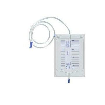 Safety Sacca Da Letto Raccolta Urine  Con Scarico 130 cm 1 pezzo