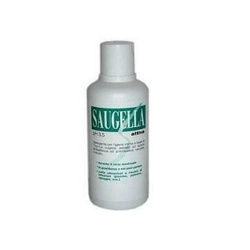 Saugella Attiva Detergente Intimo pH 3,5 Antibatterico 500 ml