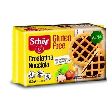 Schar crostatina nocciola 4 x 38 g
