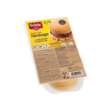 Schar panini hamburger 4x75g