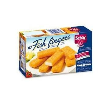 Schar surgelati fish fingers 10 pezzi 30 g
