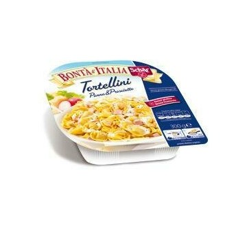 Schar surgelati tortellini panna & prosciutto bonta' d'italia 300 g
