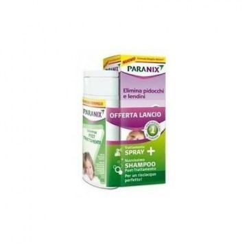 Spray paranix trattamento + shampoo post