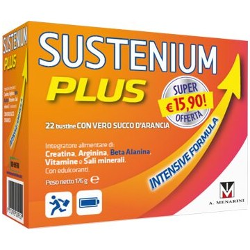Sustenium Plus Intensive Formula Creatina e Arginina 12 bustine