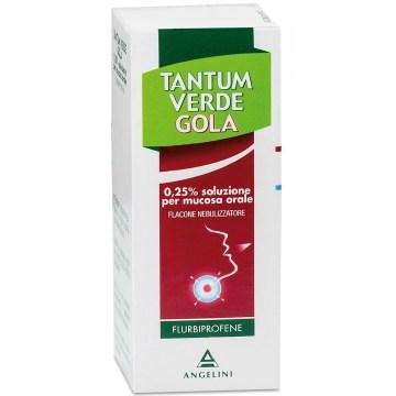 Tantum Verde Gola Nebulizzatore 15 ml 0,25