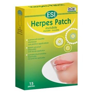 Tea tree herpes patch 15 cerotti monouso trasparenti