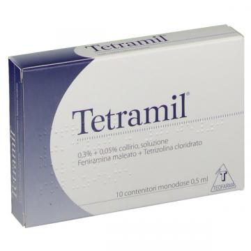 Tetramil Collirio Monodose 10 flaconi 0,5 ml