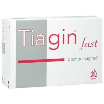 Tiagin Fast 10 Capsule Softgel Vaginali