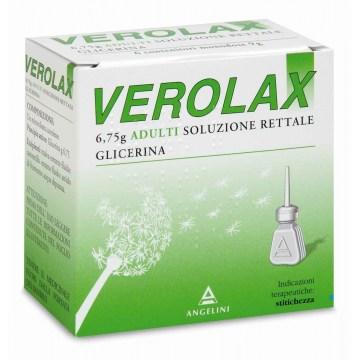 Verolax Adulti Soluzione Rettale 6 clismi 6,75g Per Stitichezza