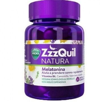 Vicks zzzquill natura coaudiuvante sonno 30 pastiglie