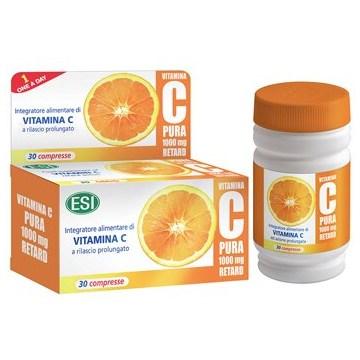 Vitamina c pura 1000 mg retard 30 compresse