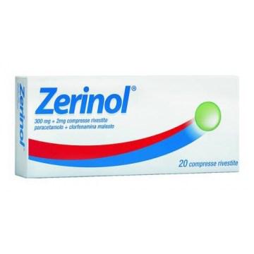 Zerinol Febbre e Raffreddore 20 compresse