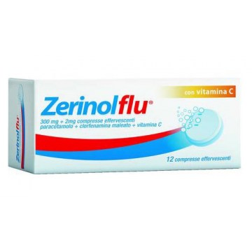 Zerinolflu Compresse Effervescenti Analgesico e Antipiretico 12 compresse