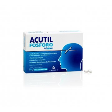 Acutil Fosforo Advance Memoria Funzioni Mentali 50 compresse