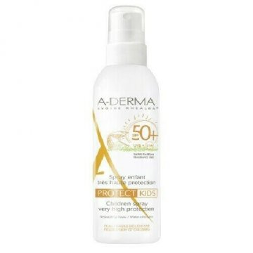 Aderma a-d protect kids spray bambino 50+ 200 ml