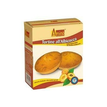 Amino' tortina albicocca aproteica 210 g