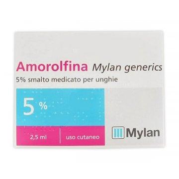 Amorolfina 5% Mylan Smalto Antimicotico Unghie 2,5 ml